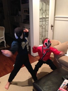 Superhero shenanigans