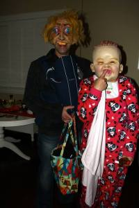 disturbing baby