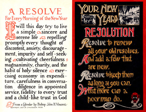 Wikipedia Postcards2CardsNewYearsResolution1915
