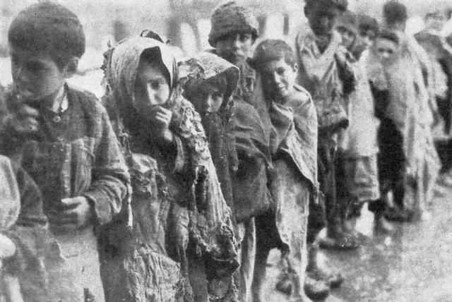 Armenian Genocide Children