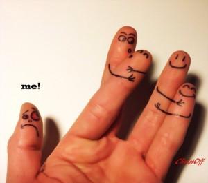 Me too fingers