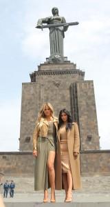 Kim K Armenia